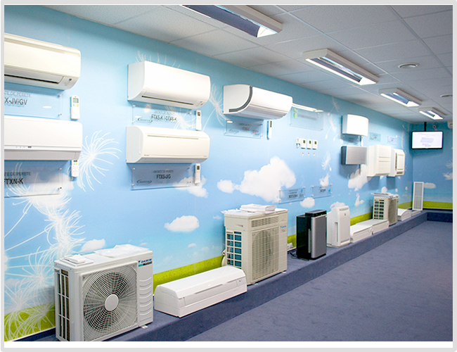 Showroom Daikin Bucuresti